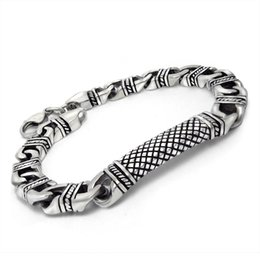 $enCountryForm.capitalKeyWord Canada - Stainless Steel Bracele For Womens And Mens Propitious Grain Titanium National Wind Bracelet Wholesale Restoring Ancient Ways In Europe
