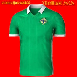 9f855bb74 Thailand Northern Ireland soccer jersey 2018 world cup North home green Tuaisceart  Eireann McNAIR K.LAFFERTY DAVIS football shirt jerseys