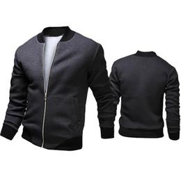 Otoño-2015 Moda Marca Casual Bomber Jacket Hombres Abrigos Al Aire Libre Veste Homme jaqueta Moleton Masculina Chaqueta Hombre Casaco A90 en venta