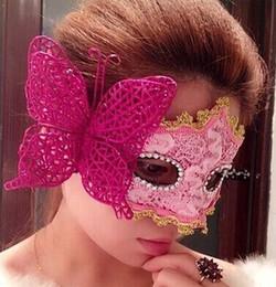 $enCountryForm.capitalKeyWord Canada - Sexy women Venetian mask party wedding festive Halloween Christmas lace butterfly masks
