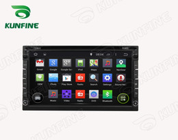Android Car Control Canada - Universal 6.95 Inch Android 5.1 Car DVD GPS Navigation Player GPS Radio Bluetooth 3G & Wifi steering wheel control with Remote KF-V3001