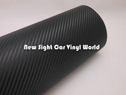 $enCountryForm.capitalKeyWord Australia - High Quality 3D Carbon Fiber Vinyl Roll Black 3D Carbon Fiber Film Wrap Bubble Free Size:1.52*30m Roll