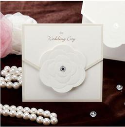 Discount korean wedding invitation cards 2017 korean wholesale 50pcs lot 1313cm korean style creative wedding invitations card with rose decoration free customizable convite de casamento stopboris Gallery