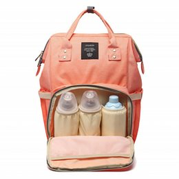 Wholesale 18 colors Land Mommy Backpacks Nappies Bags Mother Maternity Diaper Backpack Large Volume Outdoor Travel Bags Organizer Christmas Gift