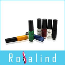 $enCountryForm.capitalKeyWord Canada - Rosalind Nail Painting Set 7 Colors Appropriative Nail Polish Nail Art Colored Drawing Set Beauty