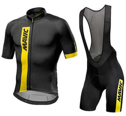 Drying peaches online shopping - Mavic Cycling Jersey Summer Team Short Sleeves Cycling Set Bike Clothing Ropa Ciclismo Cycling Clothing Sports Suit