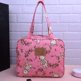 $enCountryForm.capitalKeyWord Canada - women shoulder bag handbag Cartoon printing waterproof handbag Green shopping bags Student book bag Lunch bag