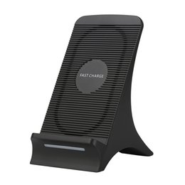 Heat fan online shopping - S550 Universal V A Wireless Fast Charger With Fan Heat Dissipation For iPhone X Plus s8 Quick Charging Stand