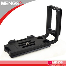 $enCountryForm.capitalKeyWord Canada - Wholesale-MENGS TL-01 1 4 inch Mounting Screw Camera L-shaped Quick Release Plate for Arca Swiss Benro Sirui Wimberley