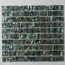 venda por atacado folha de telha Natural cor verde Abalone shell, mãe de shell pérola mosaico, para o fundo, fronteira são usados # MS100