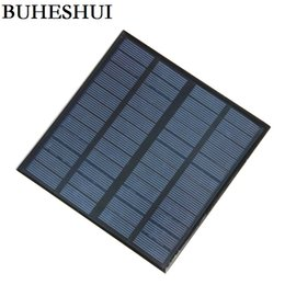 Battery Power Cell Phone Charger Canada - HOT 3W 12V Mini Solar Cell Polycrystalline Solar Panel DIY Panel Solar Power Battery Charger 145*145*3MM 10pcs lot Free Shipping