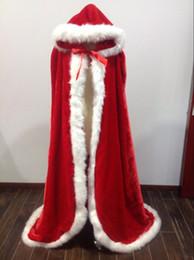Cheap long fur Coats online shopping - Beautiful Fall Winter Fur Bridal Coat Wraps Jackets with Hat Cheap Bridal Wraps Warm Newest Long Wedding Cloak Capes Bolero