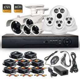 8ch Dvr Hd Canada - 8CH HD-CVI 1080P 2.0MP Realtime Super-LED IR CCTV Security DVR Camera System