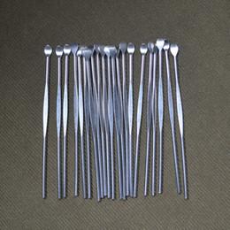 $enCountryForm.capitalKeyWord NZ - Earpick Dry Herb Dab Vaporizer Pen Wax Dabber Tools eGo Evod Wax Atomizer e-cig Stainless Steel Titanium Nail Concentrate Dabber Tool