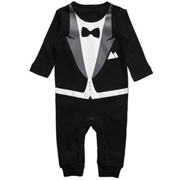 China New Cotton Newborn Baby Boy Girl Clothing Clothes Rompers Creeper Jumpsuit overalls Baby Romper suppliers