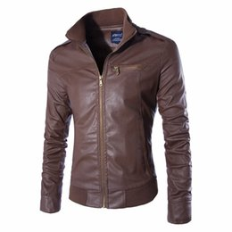 Discount Leather Jackets Skinny Men | 2017 Leather Jackets Skinny ...