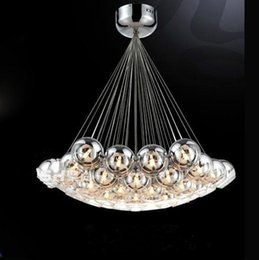 Discount Bubble Glass Ball Lights Chandelier 2017 Bubble Glass