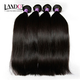 $enCountryForm.capitalKeyWord Canada - Peruvian Hair Silky Straight Human Hair Weave 4 Bundles Lot Unprocessed 8A Peruvian Straight Hair Extensions Natural Black Color Double Weft