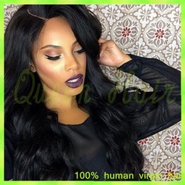 ombre full lace wigs Australia - glueless full lace human hair wigs for black women brazilian virgin hair body wave full lace wig 24inch hand tied wig baby hair