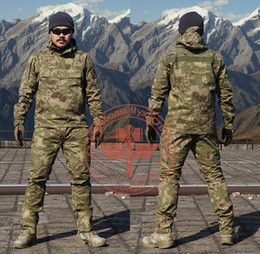 swat tactical shirts Australia - Pro. BDU Camouflage Military Uniform Army SWAT Equipment Tactical Combat Airsoft Suit Pants Shirts Hunting Clothes Pantingball
