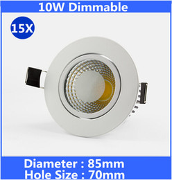 $enCountryForm.capitalKeyWord NZ - Dimmable led downlight 10w COB LED ceiling spot light warm cool white recessed lights for home lighting 85-265V LED Downlights