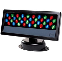 Chinese  36*3W LED RGB Floodlight LED Wash Light Waterproof LED DMX 512 Stage Light LED Floodlight led Wall Washer light background Lamp manufacturers