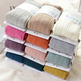 $enCountryForm.capitalKeyWord Canada - Warm Tights Winter Full Cotton Vertical Pattern Candy Colors Thermal Dress Pantyhose for Winter Spring