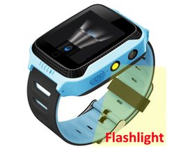"""silicone glasses kids 2019 - Kids smart watches GPS tracker Q528 Y21 GPS Watch Flashlight Camera Children Watch 1.44""""touch Screen SOS Call Locat"""