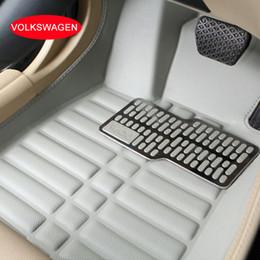 Plastic Floor Mats Canada - Car floor mats For Volkswagen VW Bora Magotan CC Sagitar Lavida Passat Tiguan Touran Car carpets 3D Special customized car foot mats