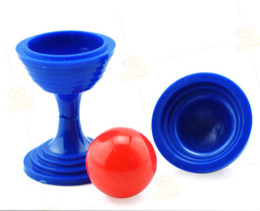 $enCountryForm.capitalKeyWord Canada - Mini Ball and Vase Gimmick Wholesale Ball Vanishing Magic Tricks Free shipping Classic Magic Toy
