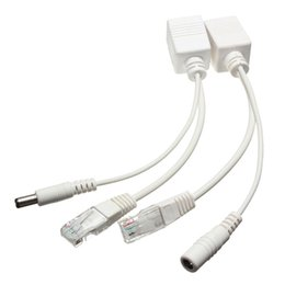 Ordering Laptop UK - Hot Sale 10 100M IEEE802.3at POE Power Splitter Cable for IP Cameras order<$18no track