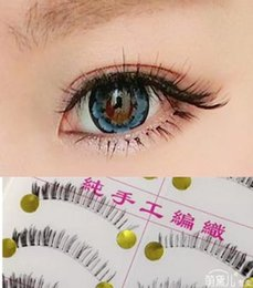 low eyelashes NZ - fake eyelashes lower eyelashes 20pairs high quality handmade bottom eyelashes natural nude makeup false eyelashes extension fake lashes HOT