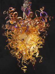 $enCountryForm.capitalKeyWord Australia - Free Shipping 110v 120v Amazing Art Light Big Size Hot Selling Murano Glass Pendant Chandelier With Led Bulbs