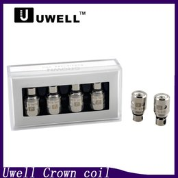 online shopping Uwell Crown coil Sub Ohm Tank Replacement coil head Dual Vertical Coils ohm ohm Ni200 TC Dual Coil ohm