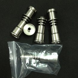 $enCountryForm.capitalKeyWord Canada - Universal Domeless Titanium Nail 16mm Titanium nail domeless Direct inject design fits both 16mm Female glass joints glass Nail by mike0xiao