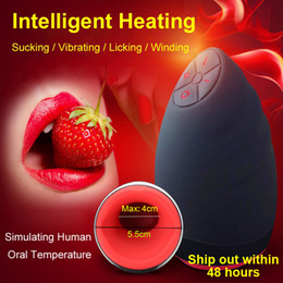 $enCountryForm.capitalKeyWord NZ - Electric Lick Suck Automatic Oral Sex Machine Male Masturbator Cup 6 Speeds Vibrating Intelligent Heat Realistic Sex Toy For Men q1110