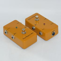 Wholesale Guitar Effect Pedal Looper Switcher true bypass looper guitar pedal Yellow Loop switch