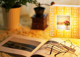 $enCountryForm.capitalKeyWord Canada - Intelligent touch control wall lamp 10pcs a bag DIY building block photo frame lights, table lamp night light frame. Variety of power supply