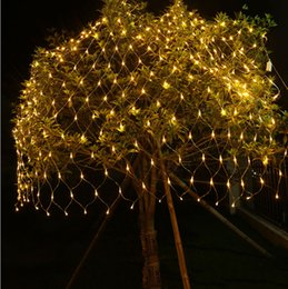 Discount fairy lights net outdoor weddings 2018 fairy lights net 2x2m 144 led outdoor net lights christmas xmas fairy string party holiday wedding party decoration lights eu plug blue colorful hot aloadofball Image collections