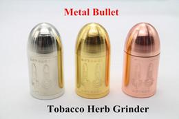 $enCountryForm.capitalKeyWord NZ - Metal Bullet Tobacco Grinder Dry Herb Grinder Smoking Grinder 3 Parts Herbal Crusher Smoke Grinder Muller