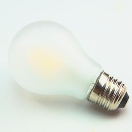 Prices Energy Saving Bulbs Canada - Wholesale price High Quality Super Brightness A19 6w dimmable A60 700lm E27 85-265VAC COB LED Filament Bulb Light 2700k Energy saving 50pcs