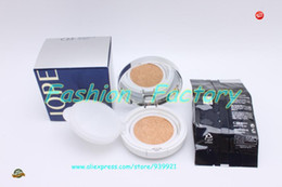 antibacterial cream NZ - 1SET IOPE Air Cushion XP BB Foundation Cream 15gx2 SPF50 Whitening Moisturizing Concealer Cushion BB Cream Free Shipping C23 A1