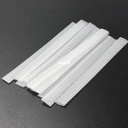 pc protectors NZ - 1000 pcs lot White Make Up Cosmetic Brushes Guards Most Mesh Protectors Cover Sheath Net Without Brush