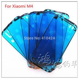 $enCountryForm.capitalKeyWord Canada - (10pcs lot) LCD Frame Bezel Adhesive Sticker For Xiaomi 4 Mi4 M4 Touch Screen Repair order<$18no track