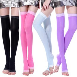 Lycra Legging Hot NZ - Hot sell Lady Compression Stockings body Shaper Compression Burn Fat Thin Socks Maternity Anti Varicose Veins Stovepipe Socks Sleeping Socks
