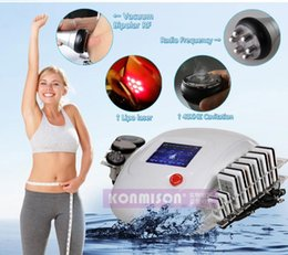 laser weight loss machine home Canada - 4 in 1 Professional diode laser vacuum cavitation RF slimming machine for weight loss home use CE approval DHL Free Shipping