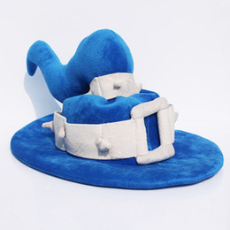 $enCountryForm.capitalKeyWord NZ - Free Shipping 25*40cm Hot Game League Of Legends LOL The Tiny Master Of Evil Veigar Cosplay Hat Plush Hat Stuffed Cap