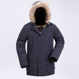 fd933626d8a Fall-2018 New Wool rich Men s Arctic Anorak Down jackets Man Winter down  90% Outdoor Thick Parka Coat winter warm outwear