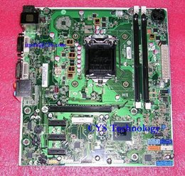 $enCountryForm.capitalKeyWord Canada - Wholesale-Free shipping for original desktop Motherboard for Joshua H-JOSHUA-H61-uATX Mainboard 670960-001 Intel H61 LGA 1155