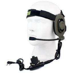 $enCountryForm.capitalKeyWord Canada - Tactical Bowman Elite II 2 Pin PTT Headset with U94 Style for Kenwood Radios C2034A
